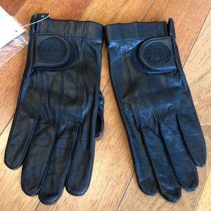 Men's Harley-Davidson leather gloves size M NWT